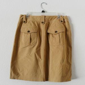 Ralph Lauren Safari / fishing tan pencil skirt